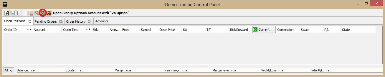 how to open a binary option demo account